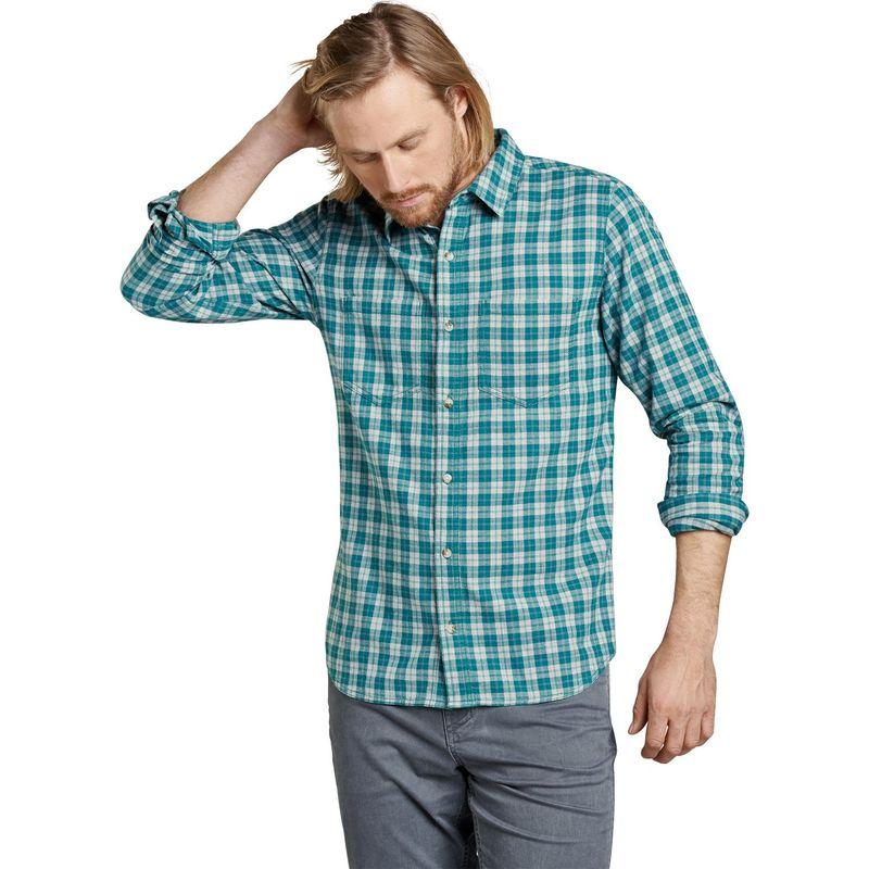 トードアンドコー メンズ シャツ トップス Mens Flannagan Slim Long Sleeve Shirt S - Blue Spruce