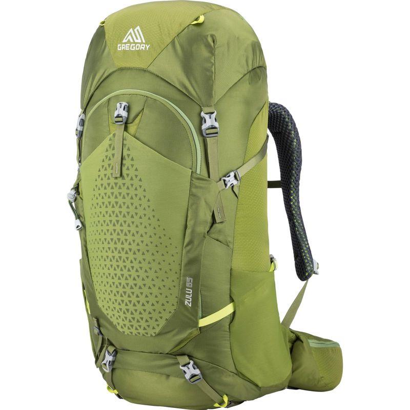 グレゴリー メンズ バックパック・リュックサック バッグ Zulu 65 SM/MD Hiking Pack Mantis Green