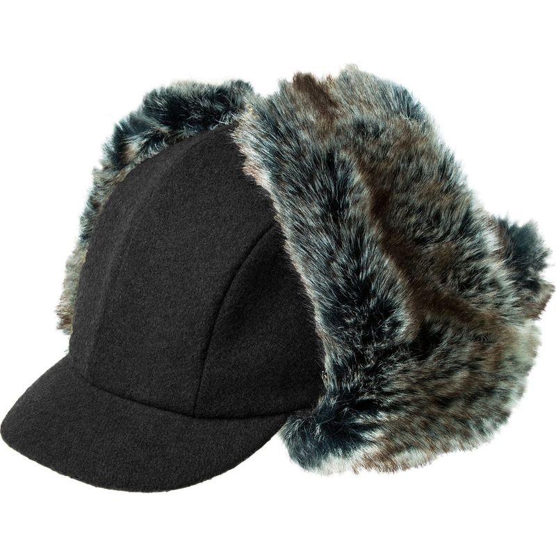 送料無料 サイズ交換無料 カンゴール メンズ アクセサリー 帽子 L - Black カンゴール メンズ 帽子 アクセサリー Wool Aviator Hat L - Black