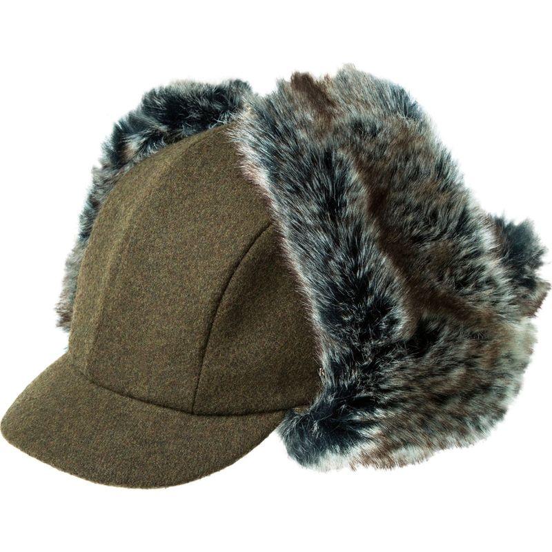 送料無料 サイズ交換無料 カンゴール メンズ アクセサリー 帽子 S - Loden カンゴール メンズ 帽子 アクセサリー Wool Aviator Hat S - Loden
