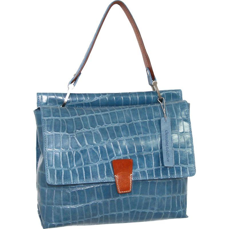 送料無料 サイズ交換無料 ニノボッシ メンズ バッグ ハンドバッグ Blue ニノボッシ メンズ ハンドバッグ バッグ Ellie Satchel Blue