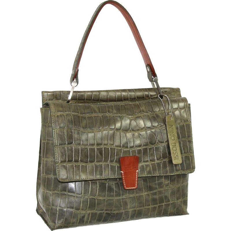 送料無料 サイズ交換無料 ニノボッシ メンズ バッグ ハンドバッグ Green ニノボッシ メンズ ハンドバッグ バッグ Ellie Satchel Green