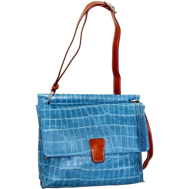 ニノボッシ メンズ ボディバッグ・ウエストポーチ バッグ Francesca Crossbody Blue