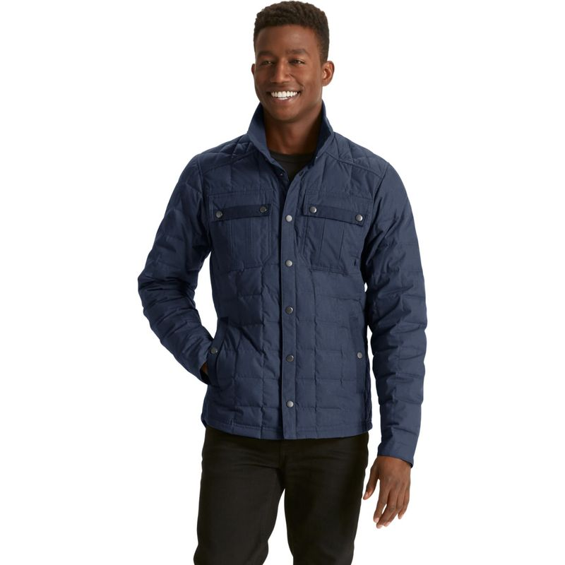 ナウ クロージング メンズ ジャケット・ブルゾン アウター Utility Down Shirt Jacket XS - Prussian Heather