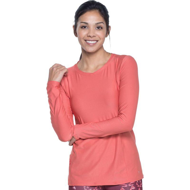 トードアンドコー レディース シャツ トップス Sola Long Sleeve Shirt M - Spiced Coral
