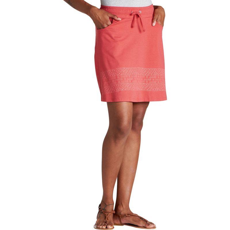 トードアンドコー レディース スカート ボトムス Tica Skirt XS - Rhubarb Border Print