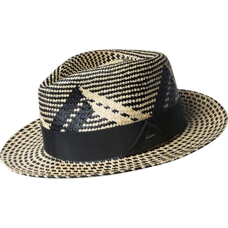 送料無料 サイズ交換無料 ベーリー オブ ハリウッド メンズ アクセサリー 帽子 XL - Black/Natural ベーリー オブ ハリウッド メンズ 帽子 アクセサリー Wasser Hat XL - Black/Natural