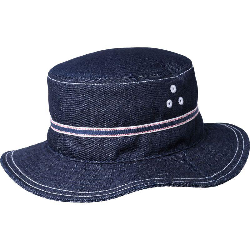 送料無料 サイズ交換無料 カンゴール メンズ アクセサリー 帽子 S - Indigo カンゴール メンズ 帽子 アクセサリー Denim Stitch Bucket Hat S - Indigo
