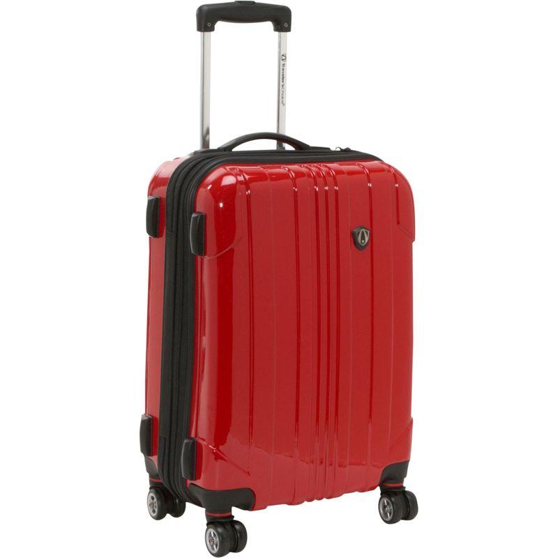 トラベラーズチョイス メンズ スーツケース バッグ Sedona 21 in. Hardside Spinner Red