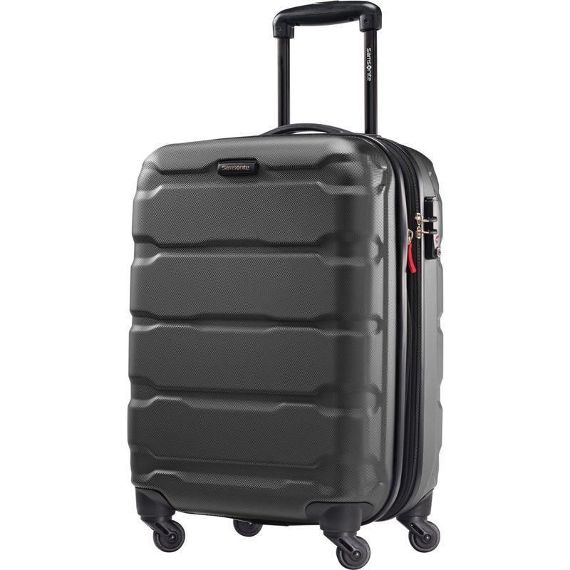 サムソナイト メンズ スーツケース バッグ Omni PC Hardside Spinner 20 Black