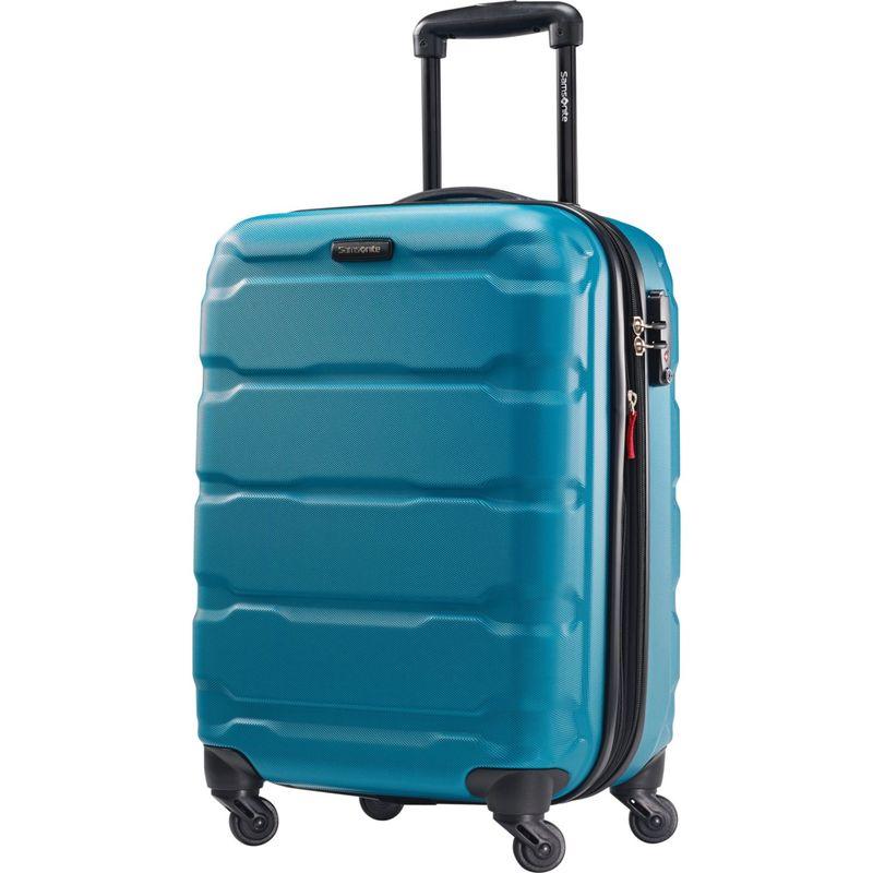 サムソナイト メンズ スーツケース バッグ Omni PC Hardside Spinner 20 Caribbean Blue
