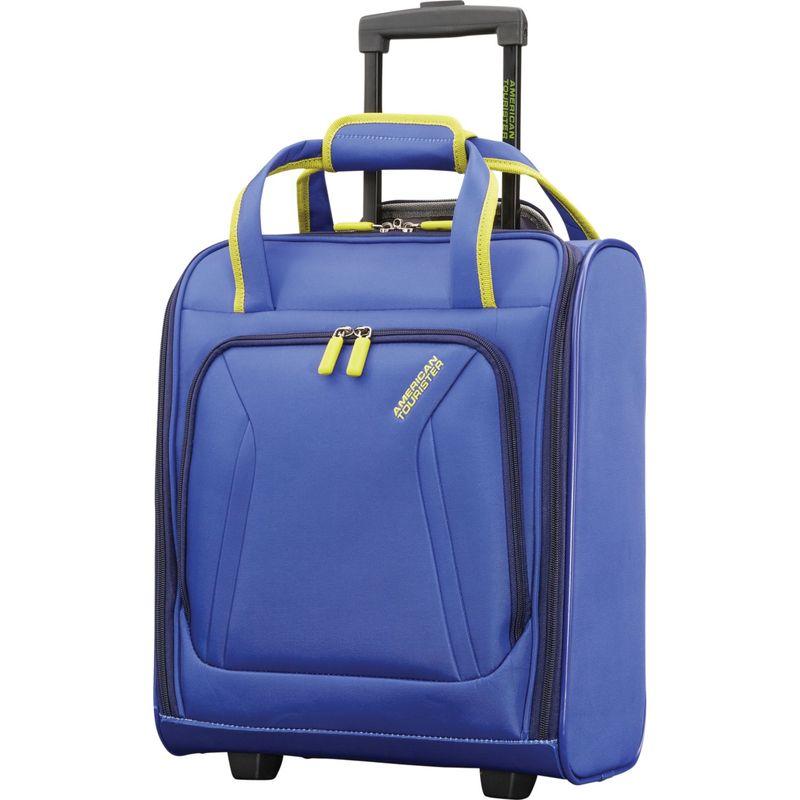 アメリカンツーリスター メンズ スーツケース バッグ Sonic Underseat Rolling Tote Blue/Lime