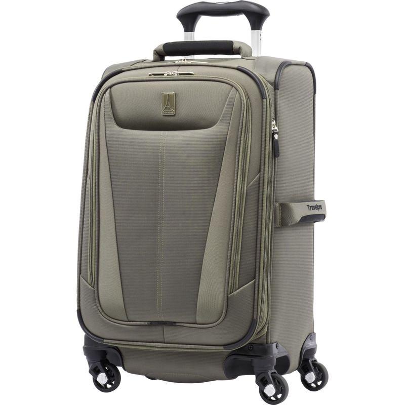 トラベルプロ メンズ スーツケース バッグ Maxlite 5 21 Expandable Carry-On Spinner Slate Green