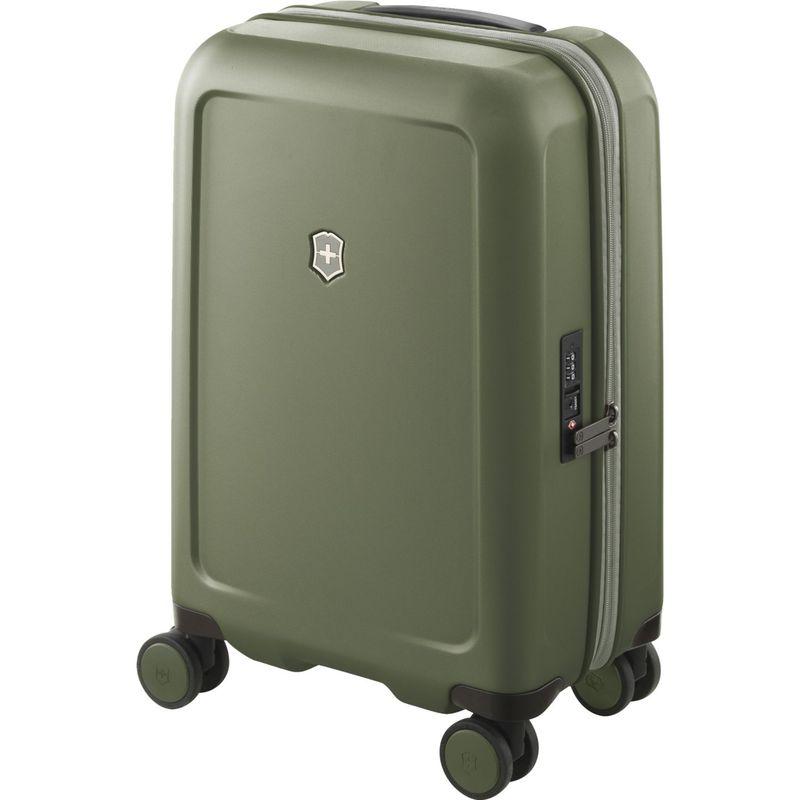ビクトリノックス メンズ スーツケース バッグ Connex Frequent Flyer Hardside Carry-On Spinner Olive