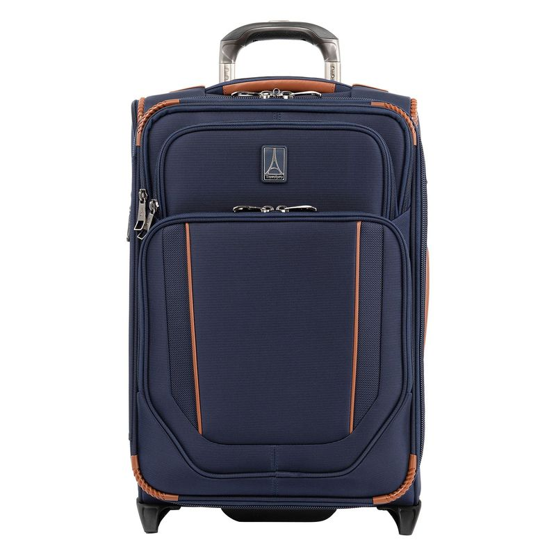 トラベルプロ メンズ スーツケース バッグ Crew Versapack Global Carry-On Expandable Rollaboard Patriot Blue