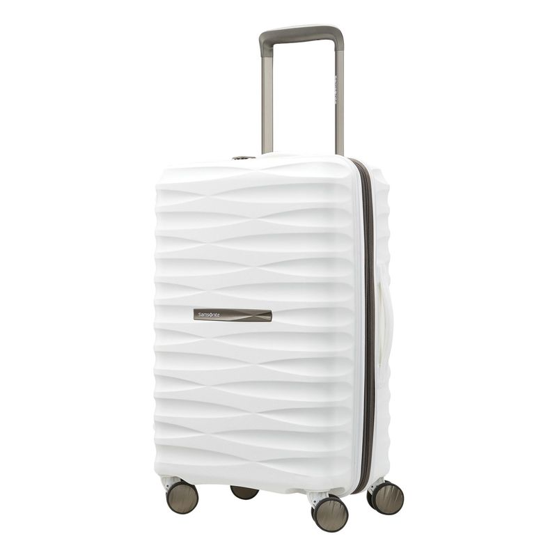 サムソナイト メンズ スーツケース バッグ Voltage DLX 20' Hardside Spinner Carry-On with USB White