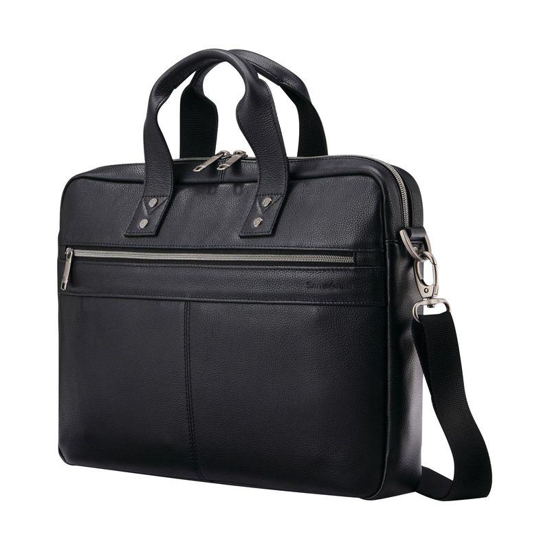 サムソナイト メンズ スーツケース バッグ Slim Brief Black