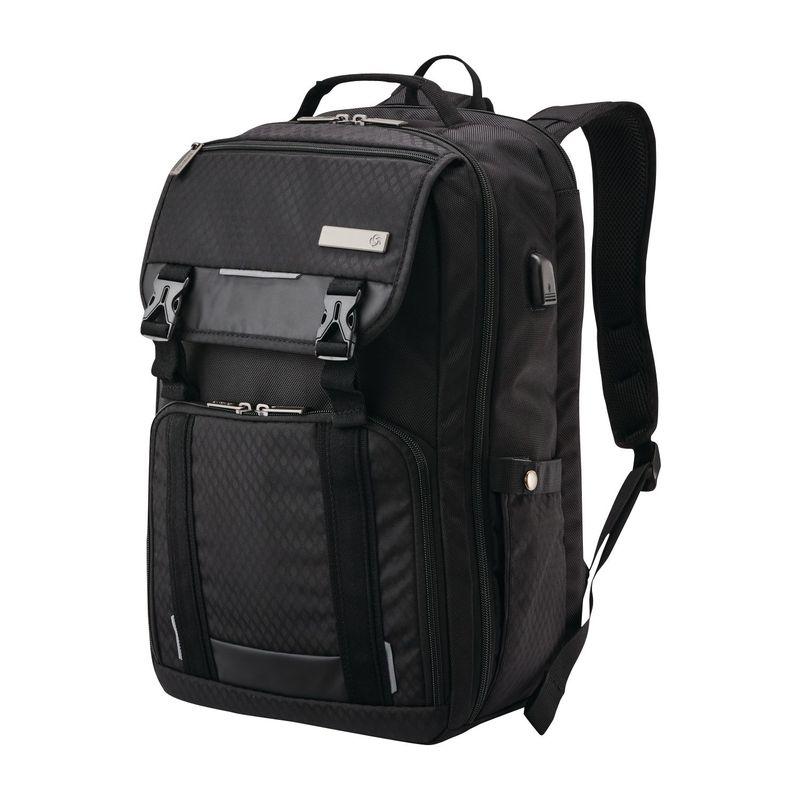 サムソナイト メンズ スーツケース バッグ Tucker Laptop Backpack Black
