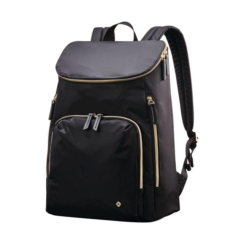 サムソナイト メンズ スーツケース バッグ Mobile Solution Deluxe Laptop Backpack Black