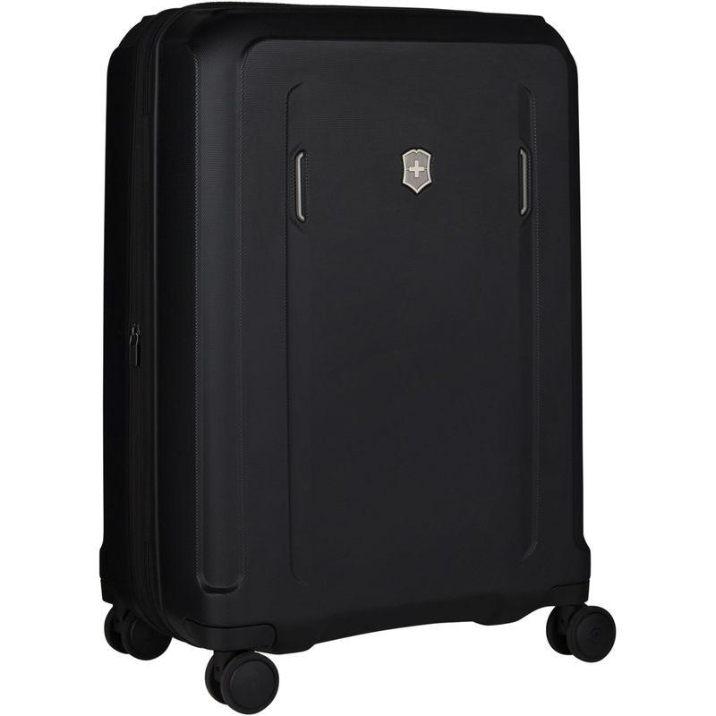 ビクトリノックス メンズ スーツケース バッグ Werks Traveler Hardside Medium Upright Black