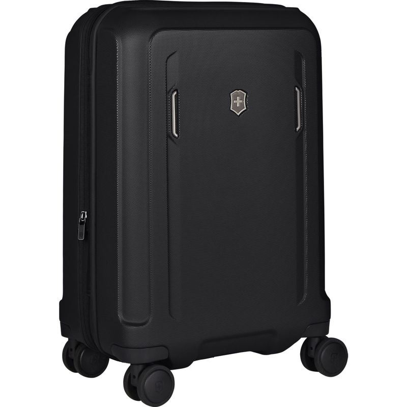 ビクトリノックス メンズ スーツケース バッグ Werks Traveler Hardside Frequent Flyer Plus Carry On Black