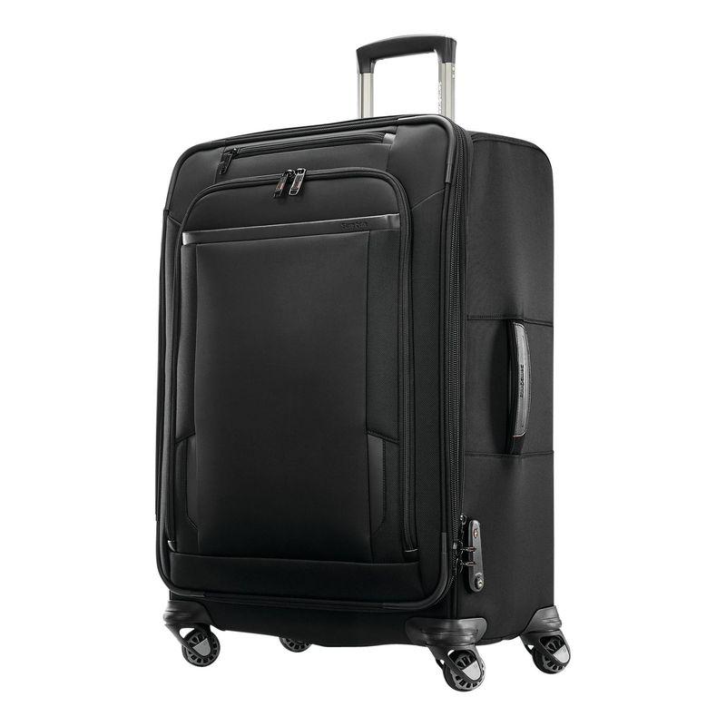 サムソナイト メンズ スーツケース バッグ Pro 25 Expandable Spinner Black