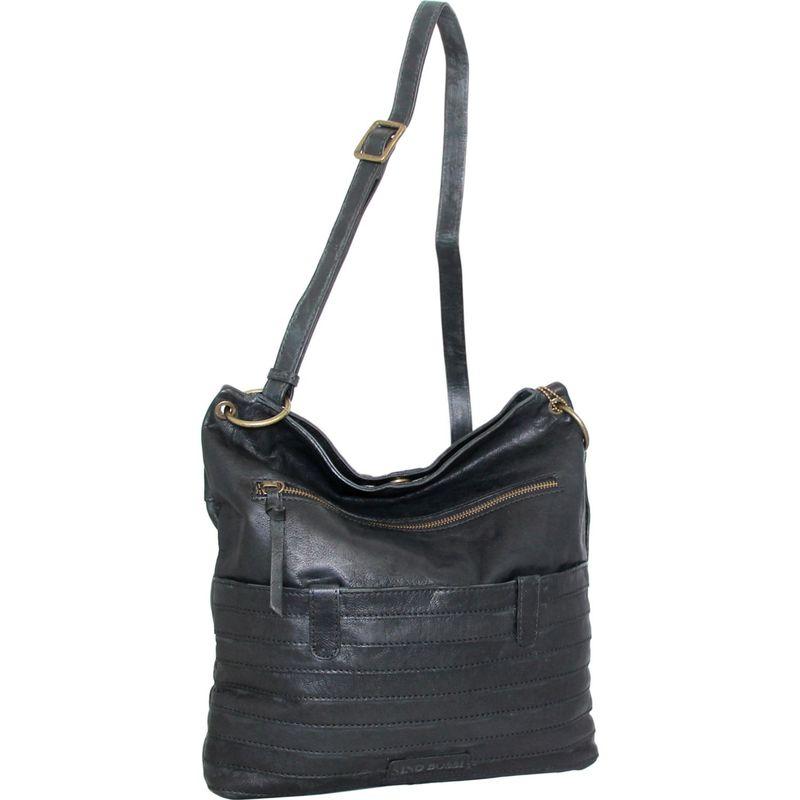 ニノボッシ メンズ ボディバッグ・ウエストポーチ バッグ Nieve Crossbody Bag Black