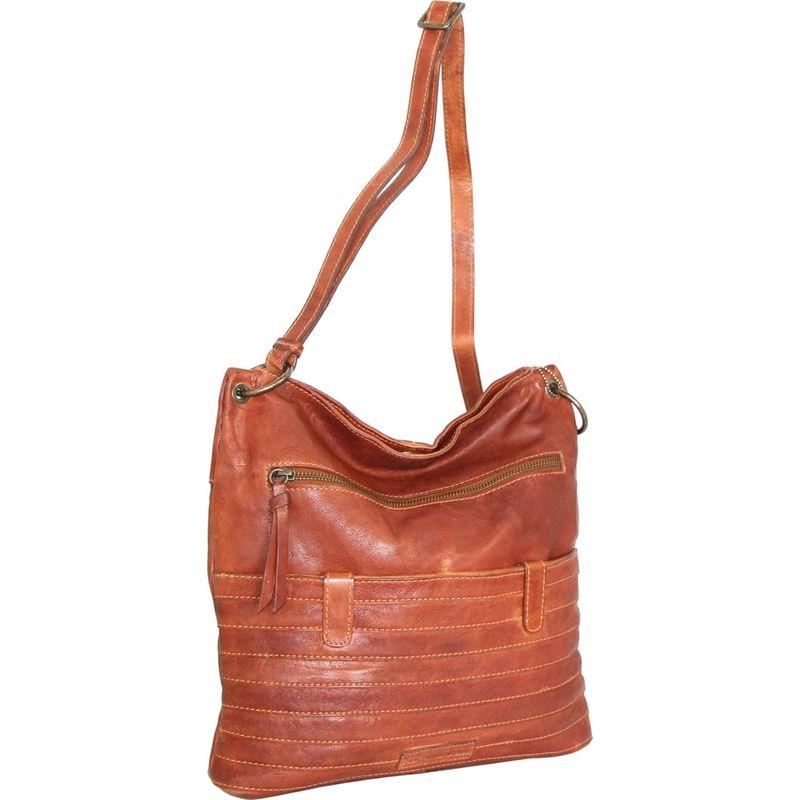ニノボッシ メンズ ボディバッグ・ウエストポーチ バッグ Nieve Crossbody Bag Cognac