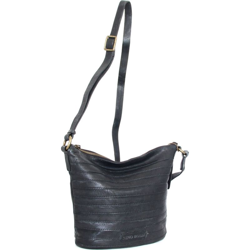 ニノボッシ メンズ ボディバッグ・ウエストポーチ バッグ Saige Crossbody Bag Black