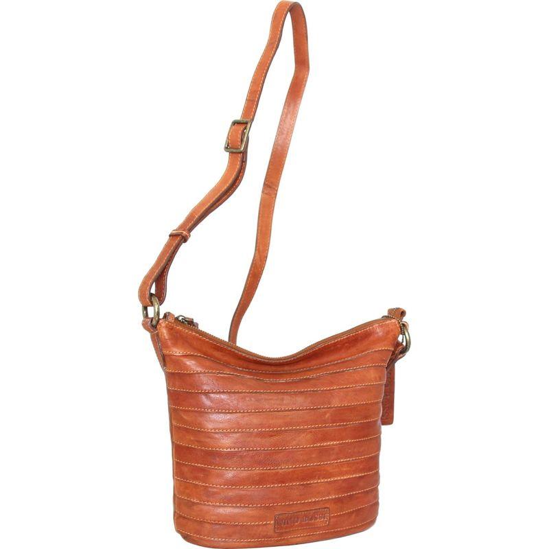ニノボッシ メンズ ボディバッグ・ウエストポーチ バッグ Saige Crossbody Bag Cognac