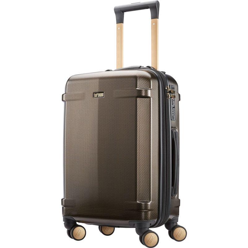 ハートマンラッゲージ メンズ スーツケース バッグ Century Deluxe Carry On Hardside Expandable Spinner Bronze