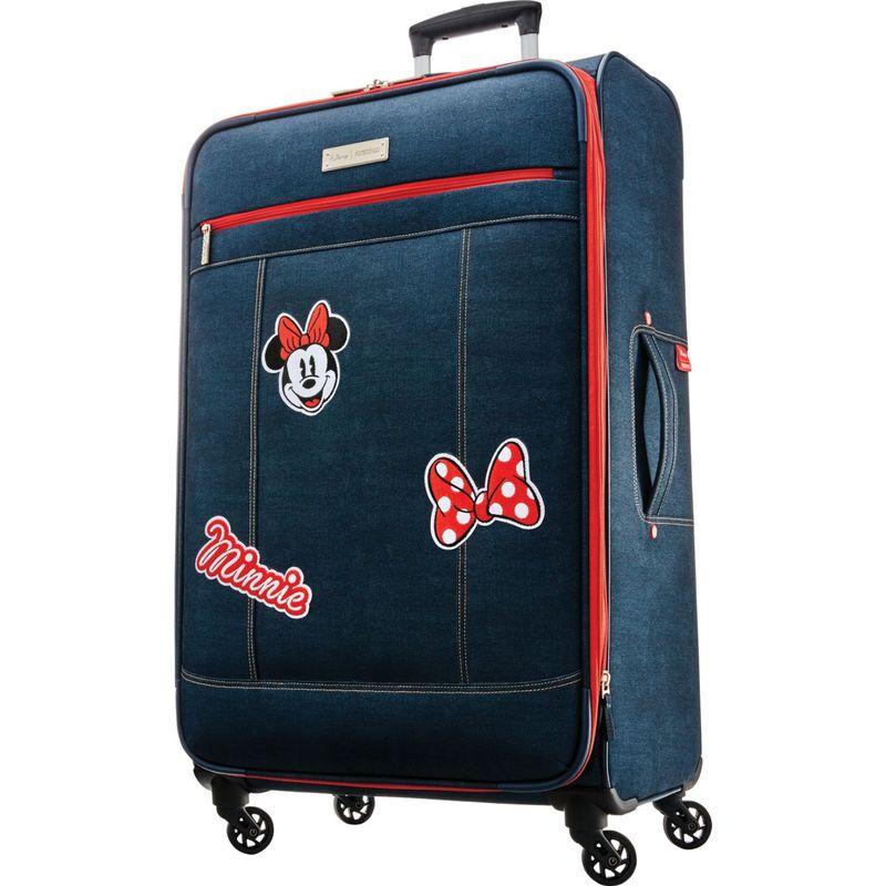アメリカンツーリスター メンズ スーツケース バッグ Disney Minnie Denim Krush 28 Spinner Softside Dark Denim