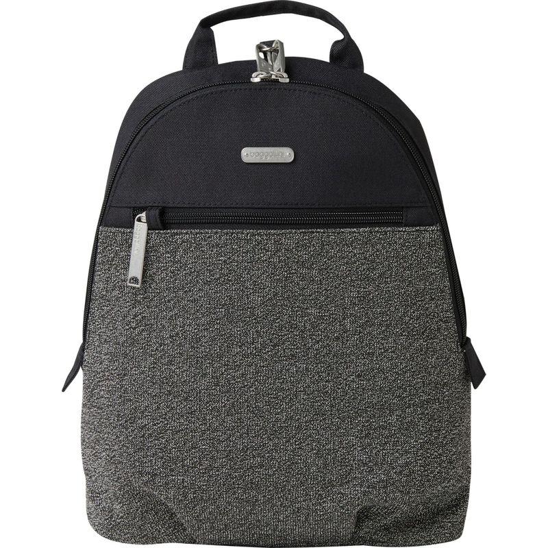 バッガリーニ メンズ バックパック・リュックサック バッグ Securtex Anti-Theft Day Backpack Black