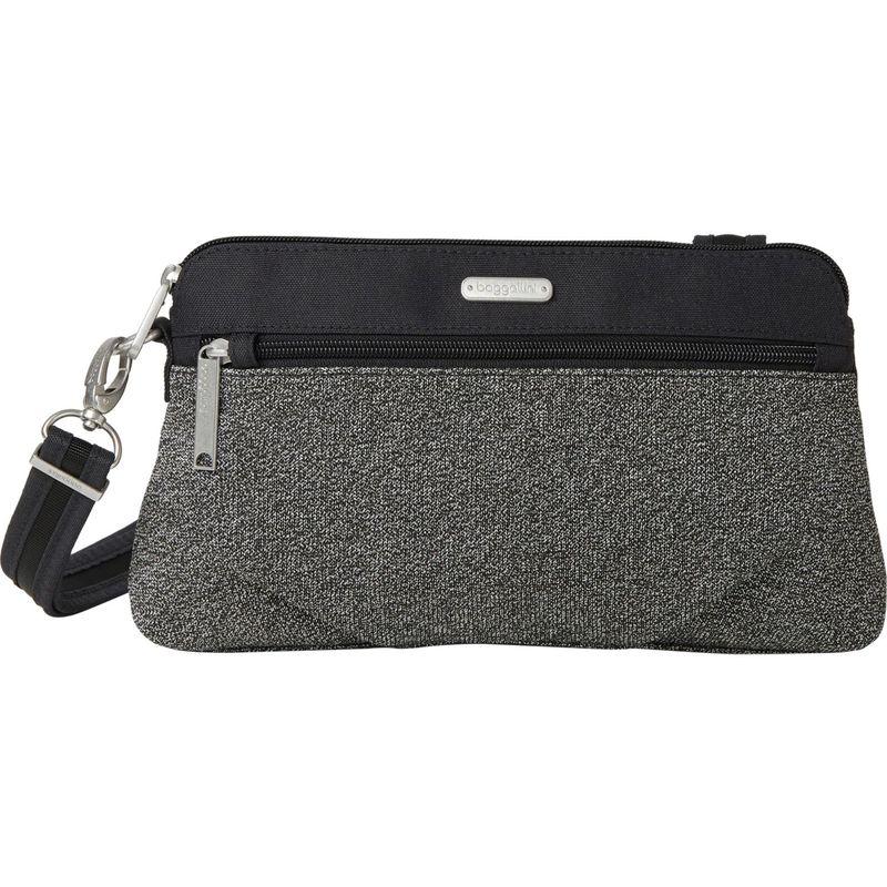 バッガリーニ メンズ ボディバッグ・ウエストポーチ バッグ Securtex Anti-Theft Everyday Crossbody Bag Black
