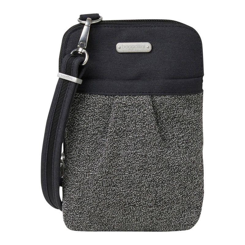 バッガリーニ メンズ ボディバッグ・ウエストポーチ バッグ Securtex Anti-Theft Excursion Crossbody Bag Black