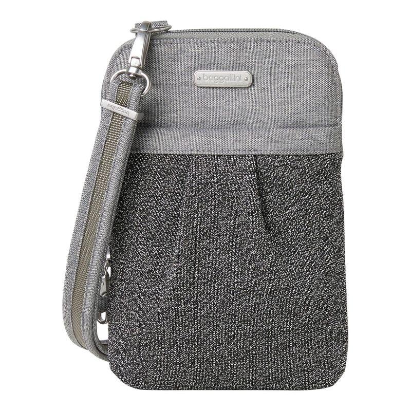 バッガリーニ メンズ ボディバッグ・ウエストポーチ バッグ Securtex Anti-Theft Excursion Crossbody Bag Stone