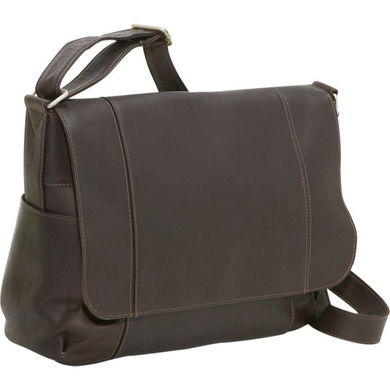 ルドネレザー メンズ ショルダーバッグ バッグ Flap Over Shoulder Bag Cafe