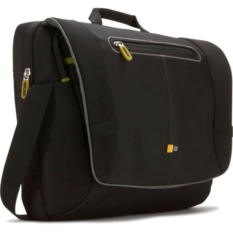ケースロジック メンズ スーツケース バッグ 17 Laptop Messenger Bag Black