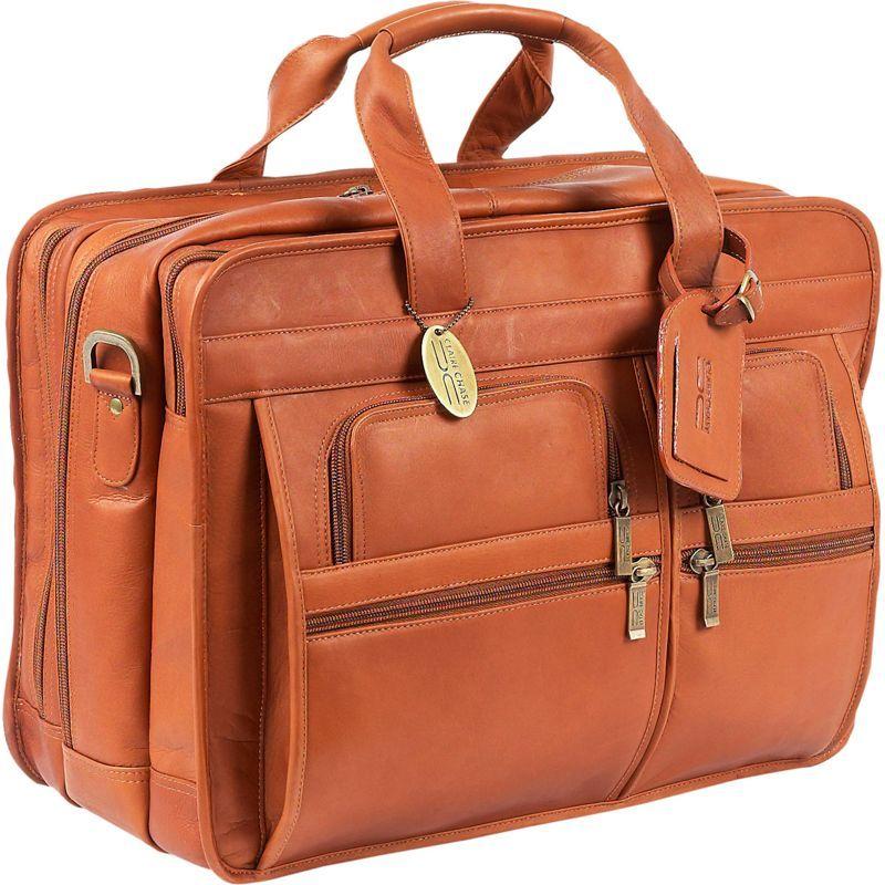 クレアーチャイス メンズ スーツケース バッグ Jumbo Executive Laptop Briefcase Saddle