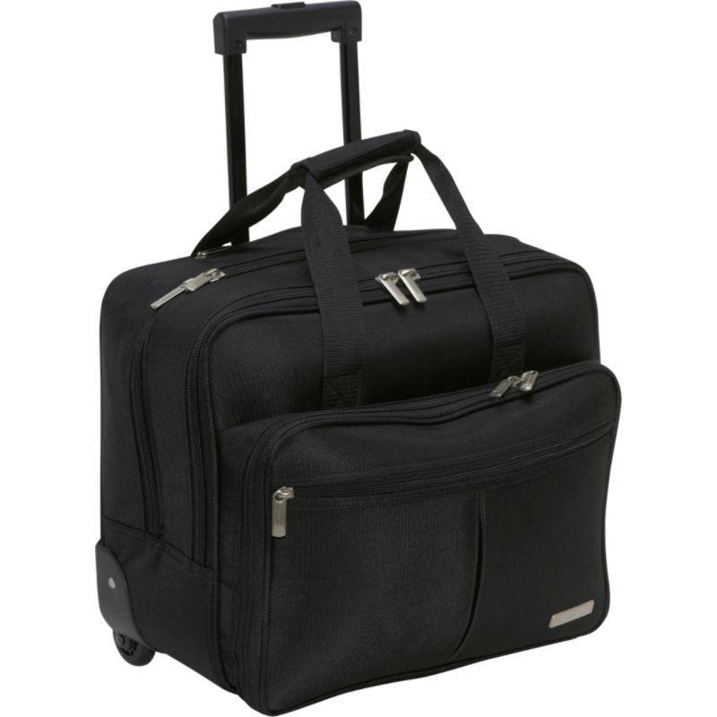 ジオフレイビーン メンズ スーツケース バッグ Rolling Business Case Black