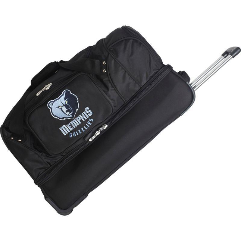 デンコスポーツ メンズ スーツケース バッグ NBA 27 Drop Bottom Wheeled Duffel Bag Memphis Grizzlies