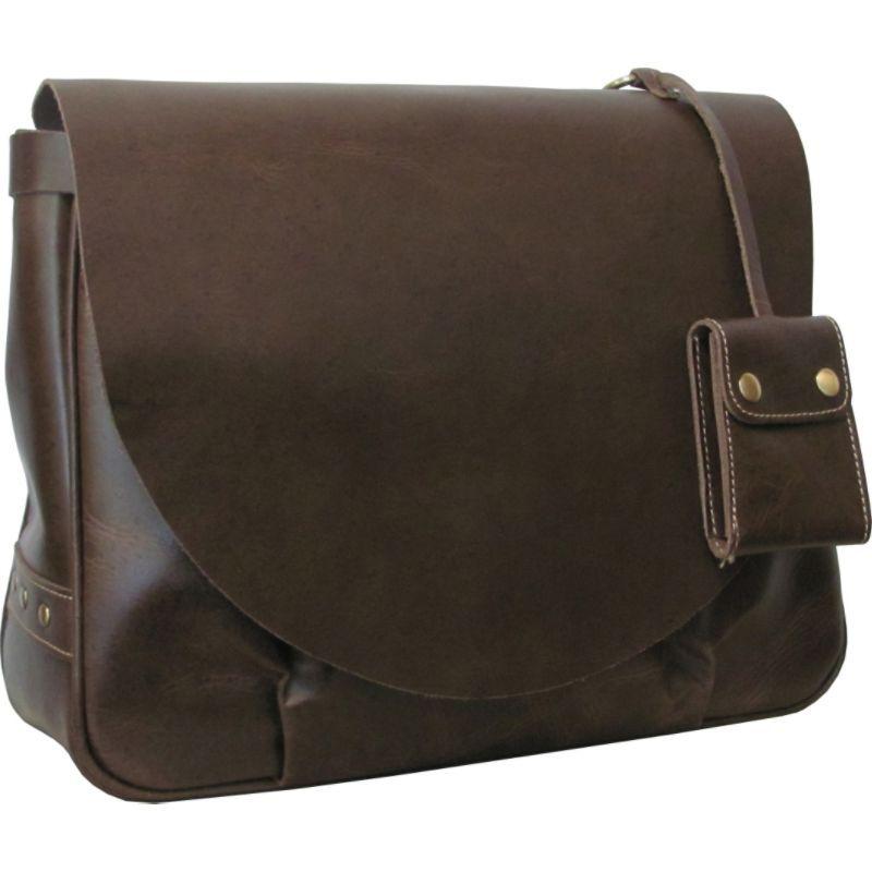 アメリ メンズ ショルダーバッグ バッグ Vintage Leather Messenger Bag Waxy Brown