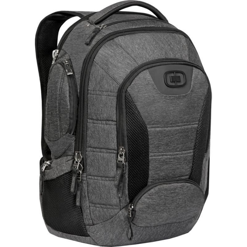 オギオ メンズ スーツケース バッグ Bandit Laptop Backpack - 17 Dark Static