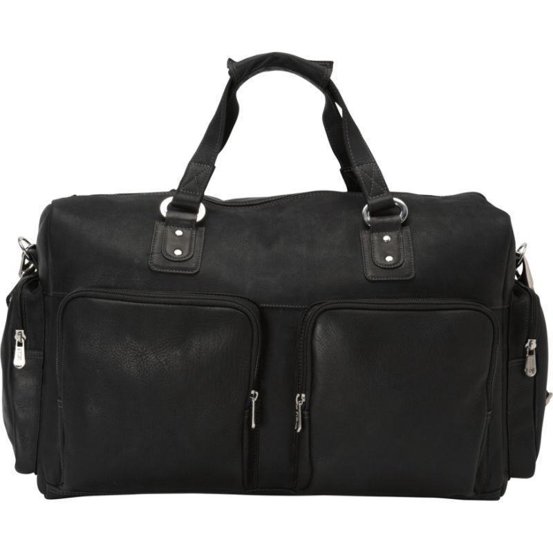 ピエール メンズ スーツケース バッグ Multi-Pocket Carry-On Black