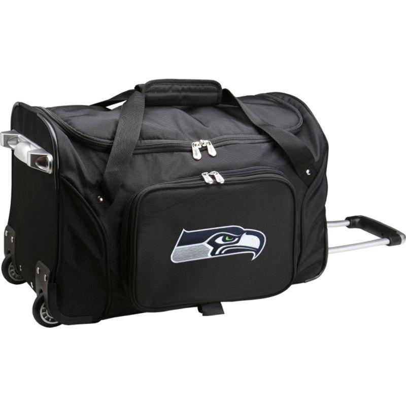 デンコスポーツ メンズ スーツケース バッグ NFL 22 Rolling Duffel Seattle Seahawks