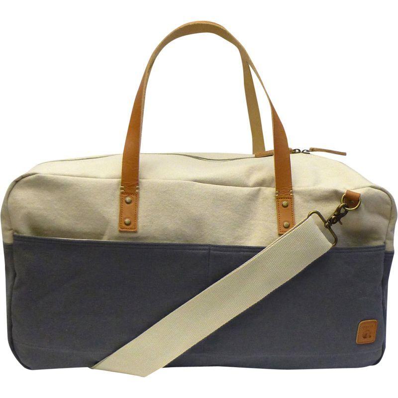 メーカー メンズ スーツケース バッグ Two-Tone Canvas Duffle Bag Grey
