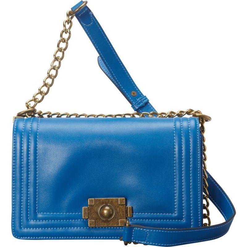 ドンナベラデザインズ メンズ ボディバッグ・ウエストポーチ バッグ Brooklyn Leather Crossbody Blue