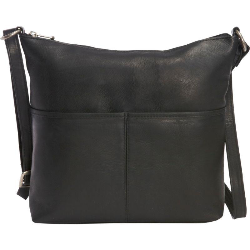 ルドネレザー メンズ トートバッグ バッグ Carefree Top Zip Tote Black