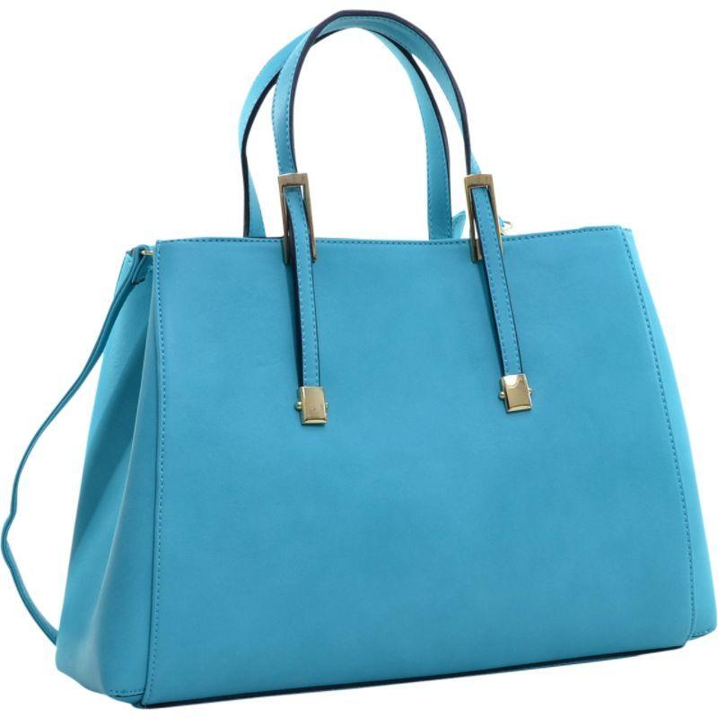 ダセイン メンズ トートバッグ バッグ Briefcase Tote with Removable Shoulder Strap Turquoise