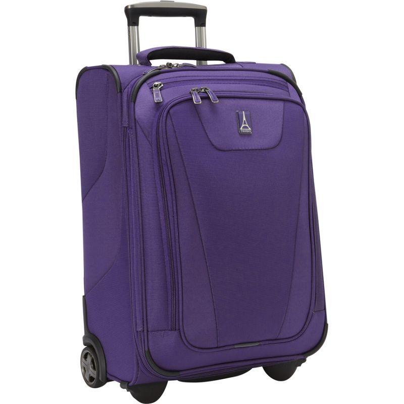 トラベルプロ メンズ スーツケース バッグ Maxlite 4 22 Expandable Rollaboard Grape